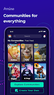 Amino: Communities and Chats Mod 3.4.33567 Apk [Unlocked] 1