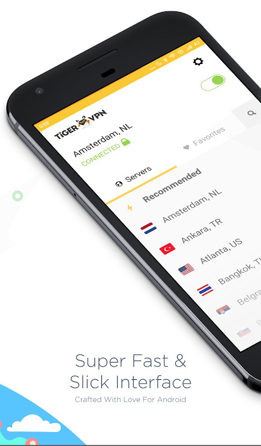 VPN by tigerVPN - For Android- screenshot