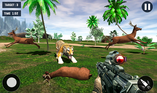 Code Triche Tiger Hunting game: Zoo Animal Shooting 3D 2020 APK MOD (Astuce) screenshots 5
