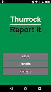 Thurrock Report It- screenshot thumbnail