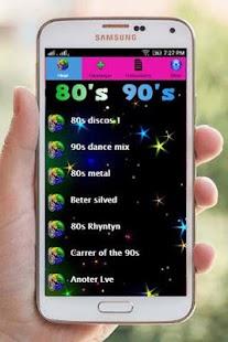 free 80s 90s music ringtones - náhled