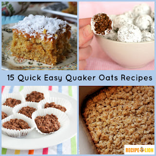 15 Quick Easy Quaker Oats Recipes