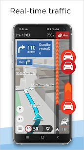 TomTom GO Navigation – GPS Maps & Traffic Alerts Mod 2.3.1 Apk (Unlocked) 4