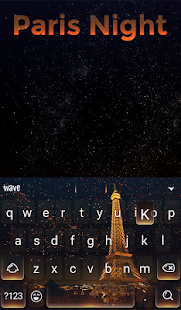 Paris Night Animated Keyboard + Live Wallpaper for PC-Windows 7,8,10 and Mac apk screenshot 2
