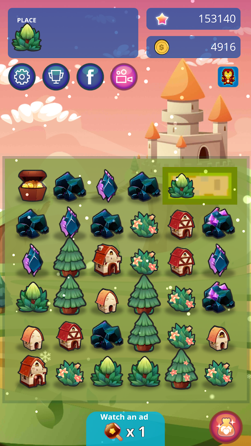 Tiny Town - Puzzle Castles- screenshot