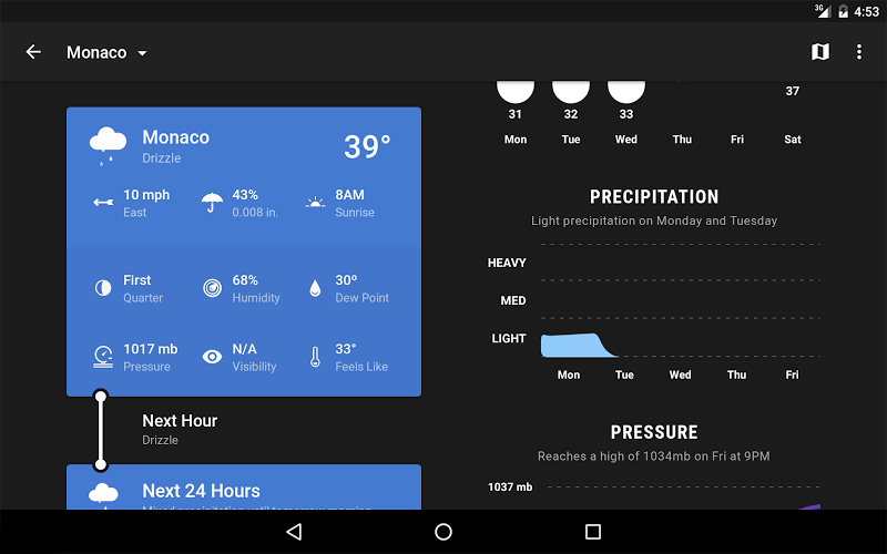 Weather Timeline - Forecast Screenshot 12