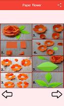 Paper Flower Craft - screenshot thumbnail 02