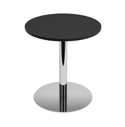 Cafébord 700 diam svart