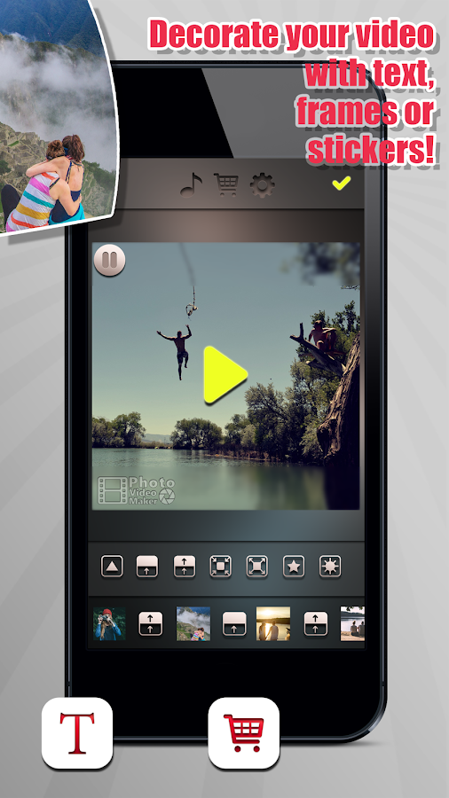 Photo Video Maker With Song- screenshot