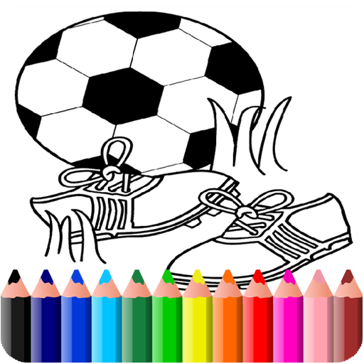 How To Color soccer (game)