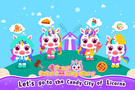 Pony Cake Cooking Diary-kitchon food cooking games 1.0.1 de.gamequotes.net 1