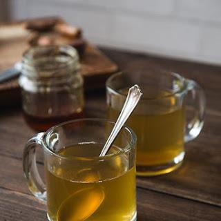 Soothing Turmeric Honey Tea.