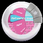 Refreshing sweets GO Keyboard