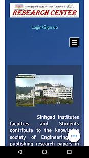 Research Center SIT, lonavala - náhled