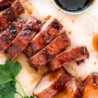 Maple Glazed Pork Tenderloin.