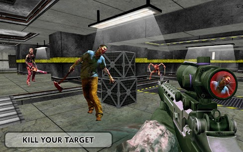 Zombies Frontier Dead Killer: TPS Zombie Shoot 9