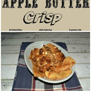 Apple Butter Crisp
