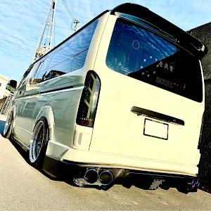 ハイエース TRH200V S-GL TRH200V H19年型のカスタム事例画像 DJけーちゃんだよさんの2020年11月29日09:04の投稿