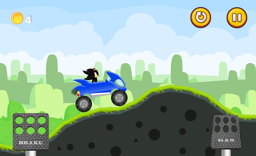 Racing Hedgehog: Super Blue - screenshot