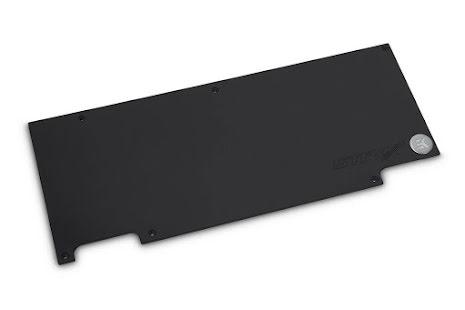 EK bakplate for EK-FC1080 GTX Ti Strix Backplate - Black (rev.2.0)