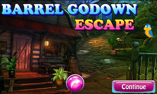 Barrel Godown Escape Game 142 - náhled