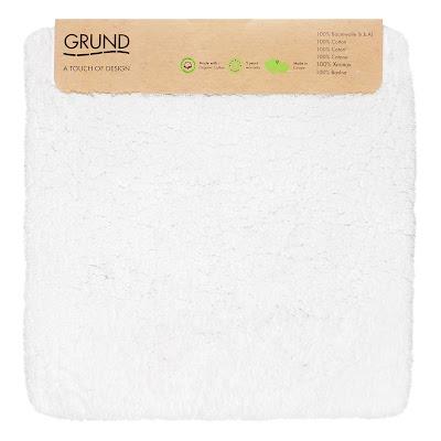 Коврик для туалета Grund Navona белый 60х60 см