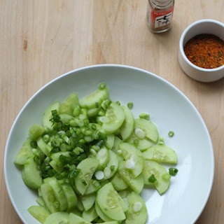 Togarashi Asian Cucumber Salad