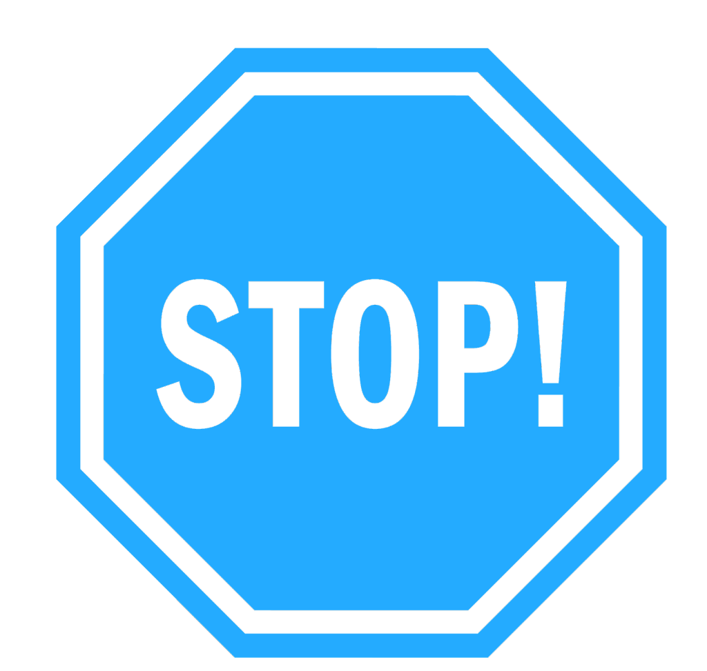 Stop Doing