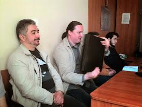 Photo: April 22, 2015 O. Ravskyi Про наболіле та вимучене. Bardyla Theorem