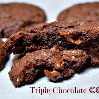 "Nigella's Triple Chocolate ""Intense"" Cookies"