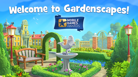 Gardenscapes MOD (Unlimited Coins) 1