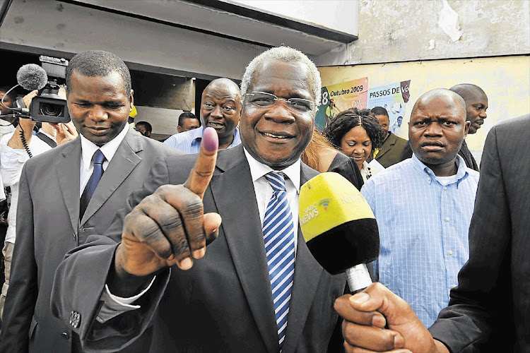 Renamo leader Afonso Dhlakama. File photo