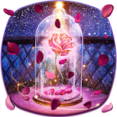 Luxury queen pink rose theme
