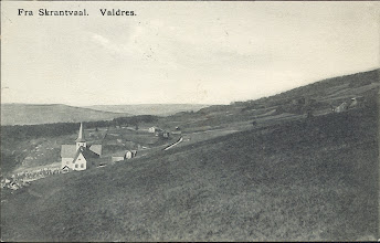 Photo: Skrautvål kirke 1907