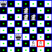 Chess Queen,Knight and Bishop Problem