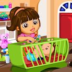 Little Babysitter Slacking Icon