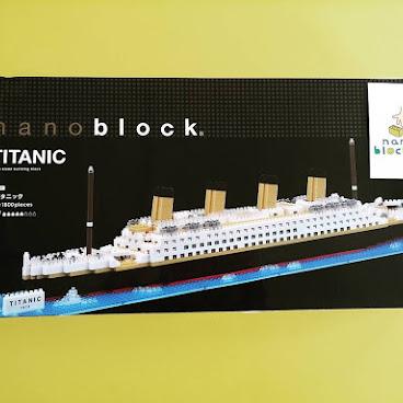 nanoblock NB_021 Titanic 鐡達尼號