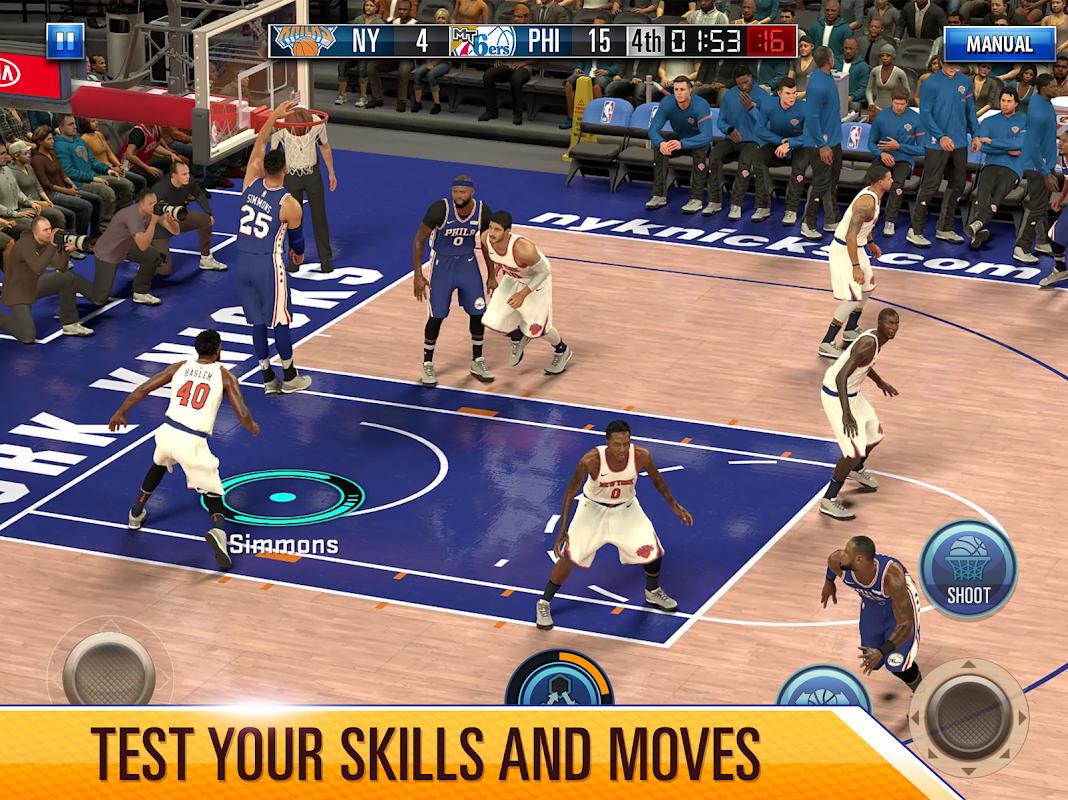 NBA 2K Mobile Basketball screenshots