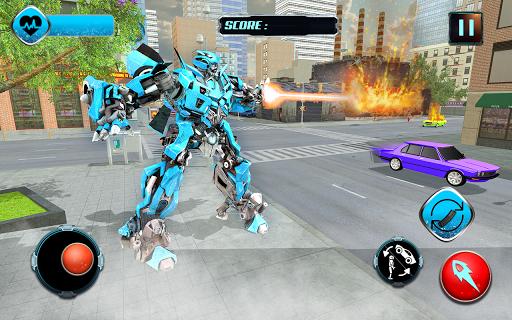 Pacific Robo Police Car Transformation Robot Rim 1.3 screenshots 1
