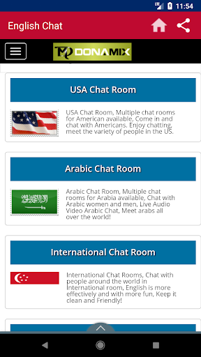 American chatting room