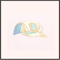 散策の野球帽