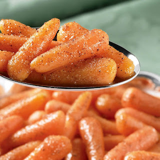 Spicy Nutmeg Carrots.