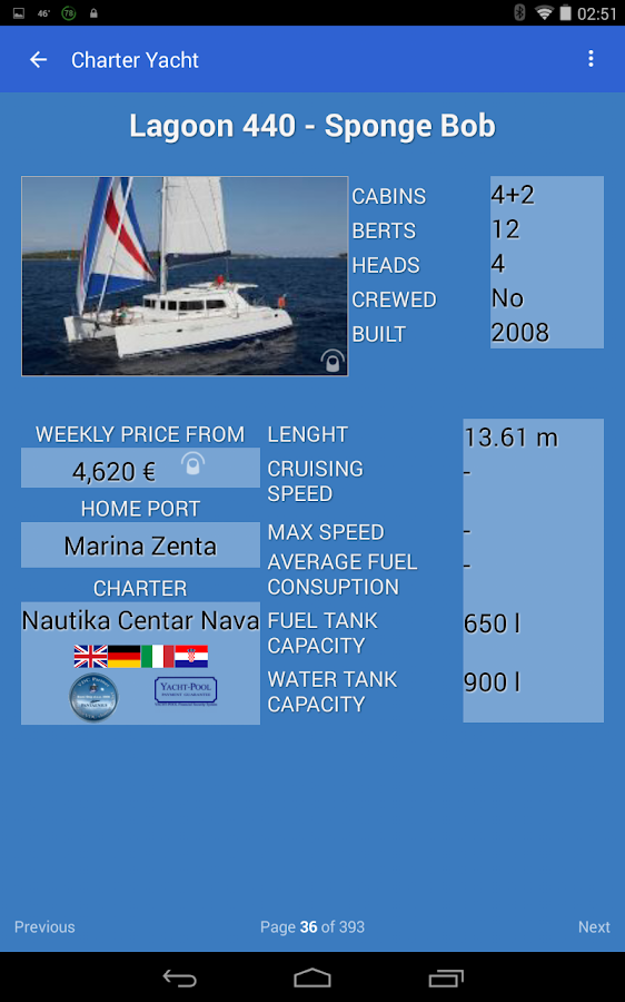 iBoatCharter- screenshot