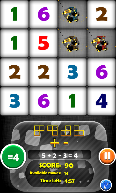 Arithmetics Puzzle 4 Kids- screenshot