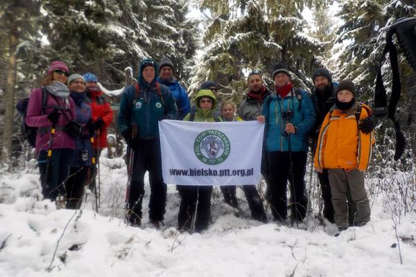 nasza grupka na szczycie Pupova