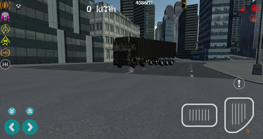 City Truck Drive Simulator 3D