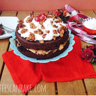 Christmas Spiced Chocolate Cake.