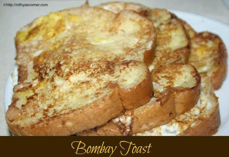 Bombay toast recipe