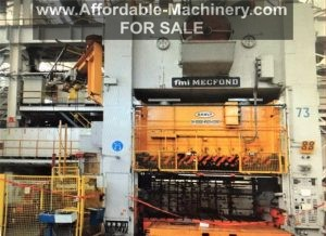 1,000 Ton Mecfond-Danly Straight Side Press For Sale