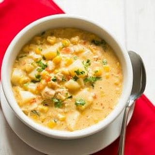 Chipotle Chicken and Corn Chowder.